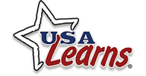 USA Learns logo