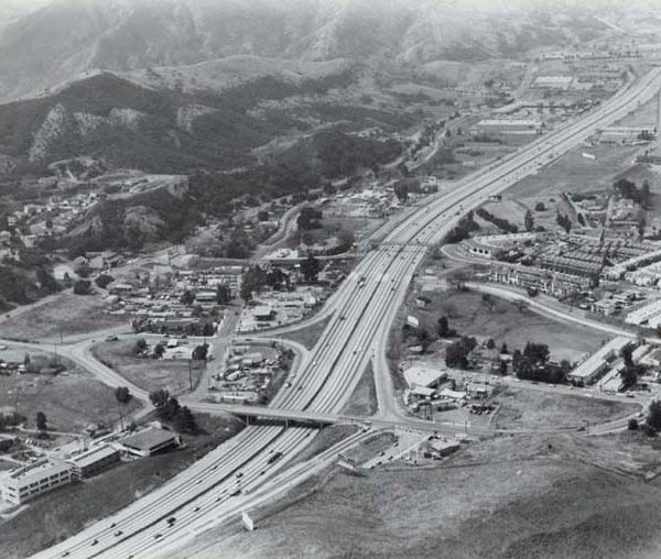 Agoura Hills Aerial view