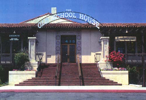 The Claremont High School building, built in 1912.