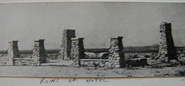 Ruins of the Llano del Rio Hotel