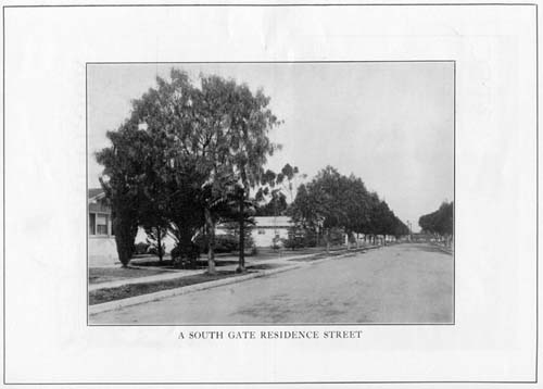 South Gate residence street