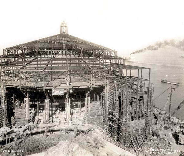 Casino under construction, 1928
