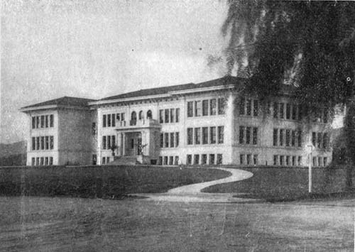 Claremont High School Black and White 1913