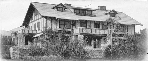 Claremont Residence in 1913