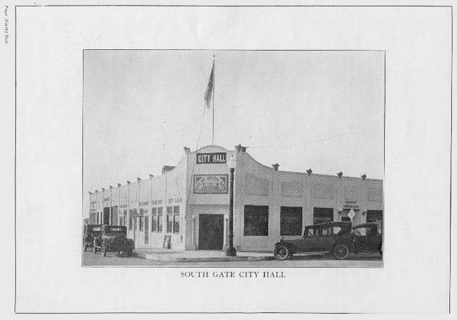 South Gate Local History La County Library