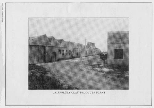California Clay Products factory in South Gate