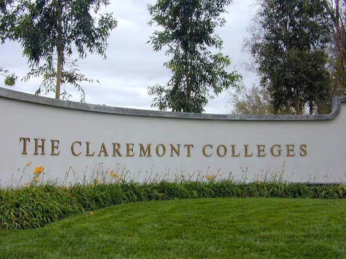 The Claremont College Sign
