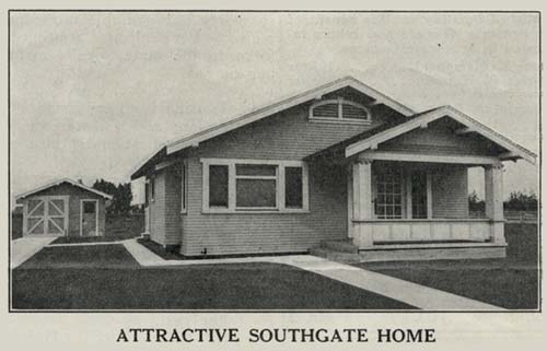 Ozenne bungalow in Southgate Gardens