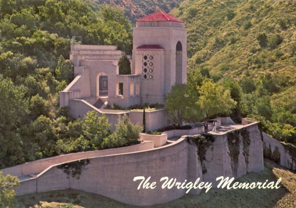 William Wrigley Memorial, c. 1970