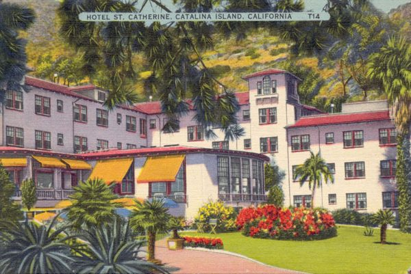 Hotel St. Catherine in Descanso Bay, c. 1935