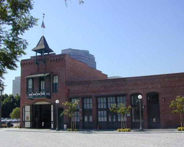 Old Plaza Firehouse in El Pueblo de Los Angeles Historic Monument