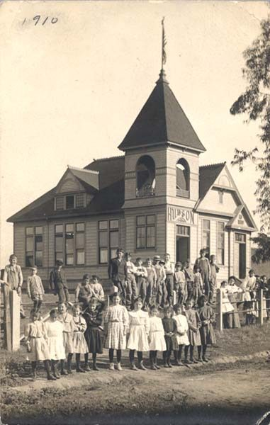 Hudson School and children