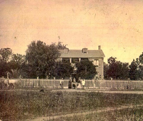 Rowland house and family