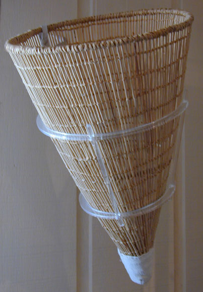 Burden basket of the type used by Piute Indians