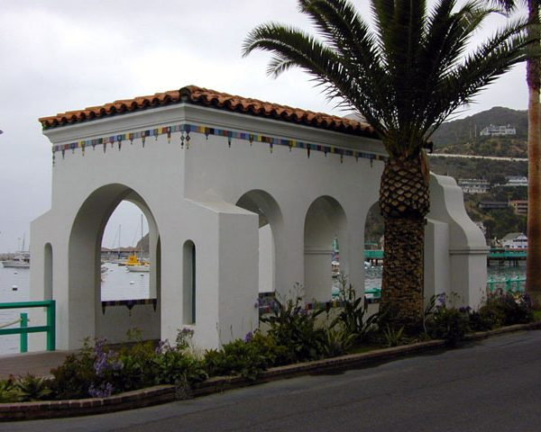 Archway over walkway to Casino, the 'Via Casino,' 2000