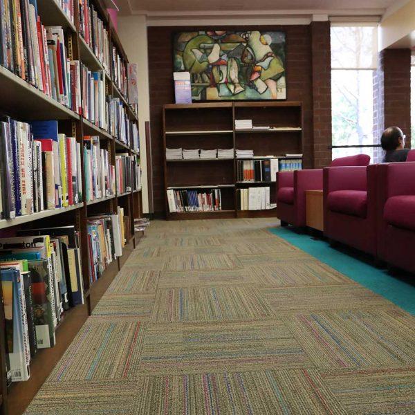 Baldwin Park Library reading area