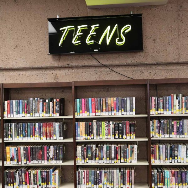 claremont library teens area