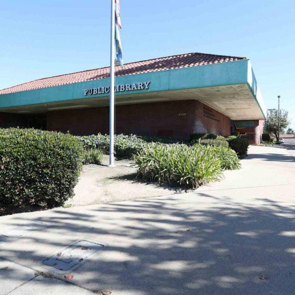 Norwood Library outside