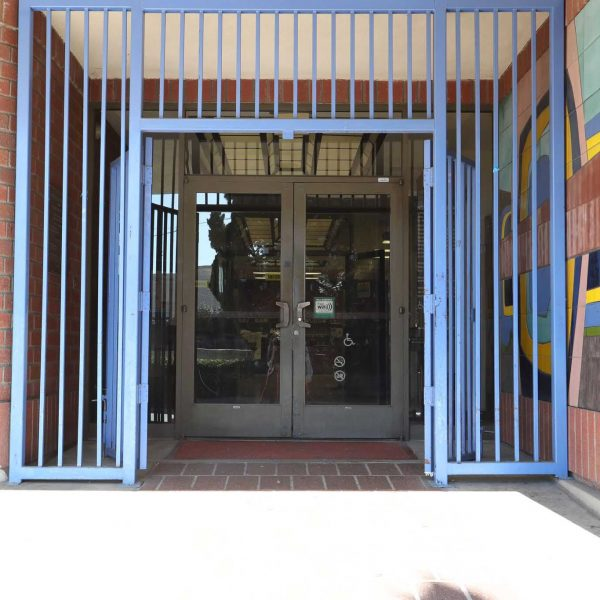 Norwood Library entrance