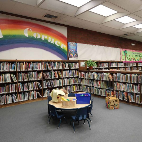 Norwood Library childrens area