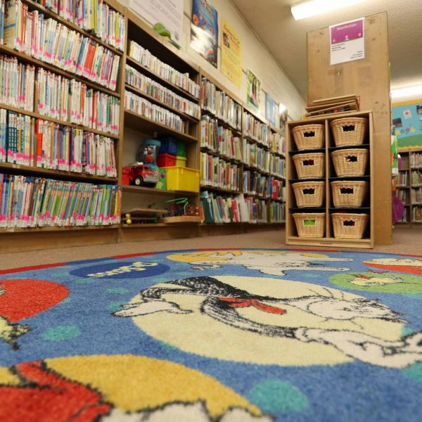 live oak library childrens area