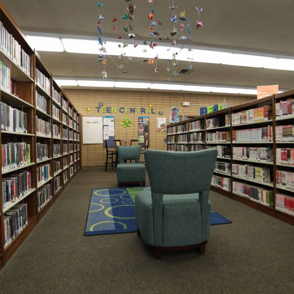 Rosemead Library sitting area