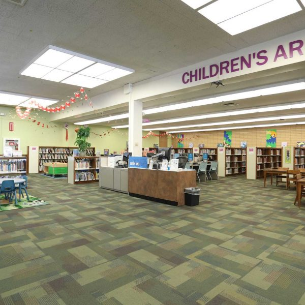 Rosemead Library childrens area