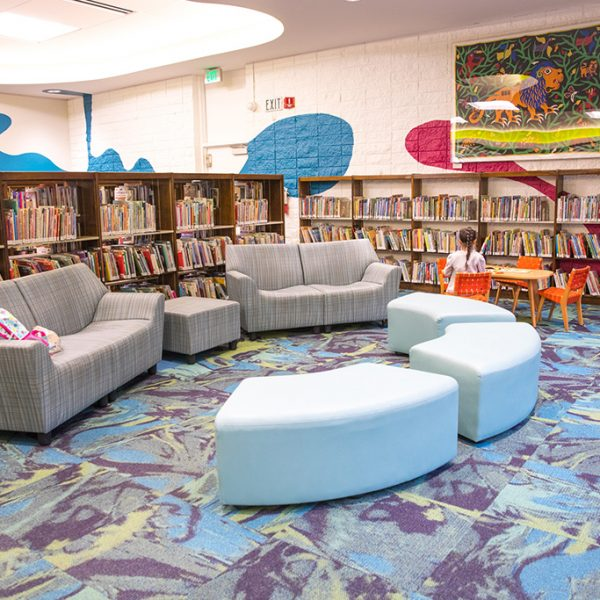AC Bilbrew LIbrary childrens area
