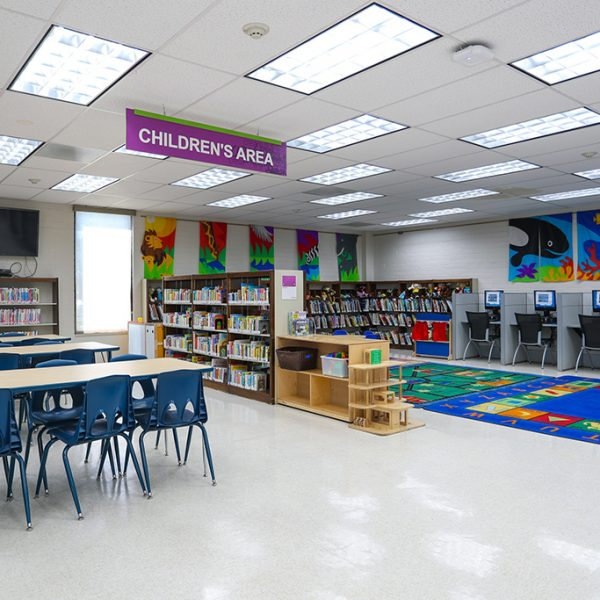 Chet Holifield Library childrens area