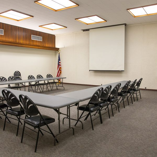 Compton Library meeting area