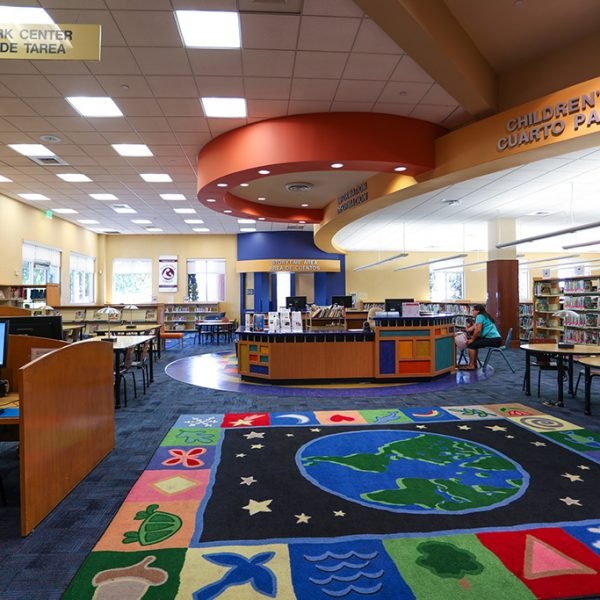East Los Angeles Library childrens area