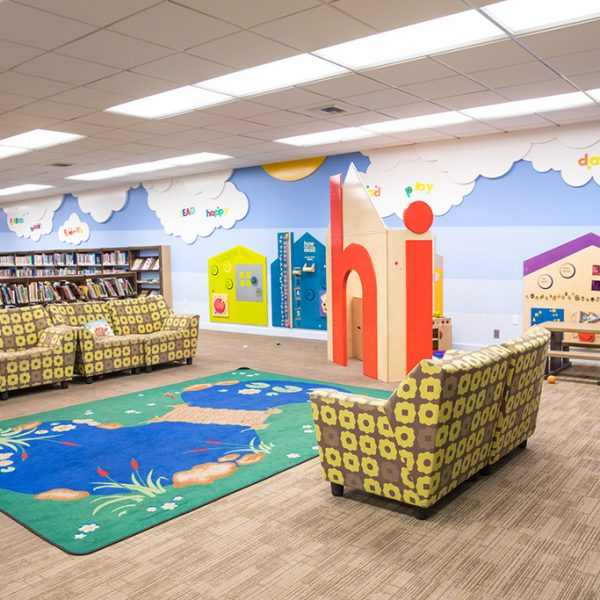 Leland Weaver childrens area