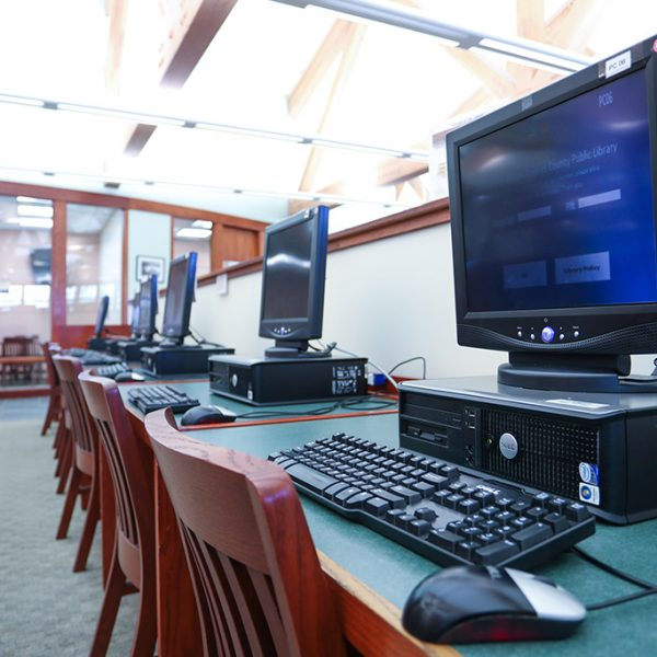 computers in Agoura Hills Library