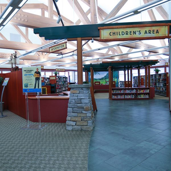 childrens area in Agoura Hills Library