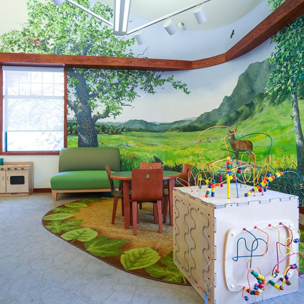 Agoura Hills Library childrens area
