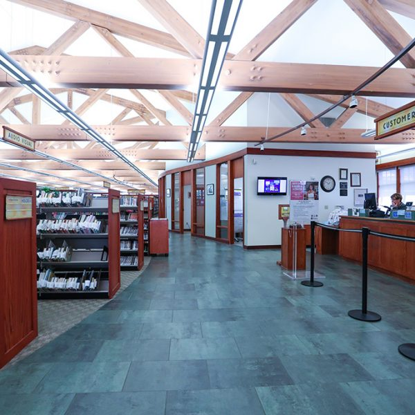 View of inside of Agoura Hills Library