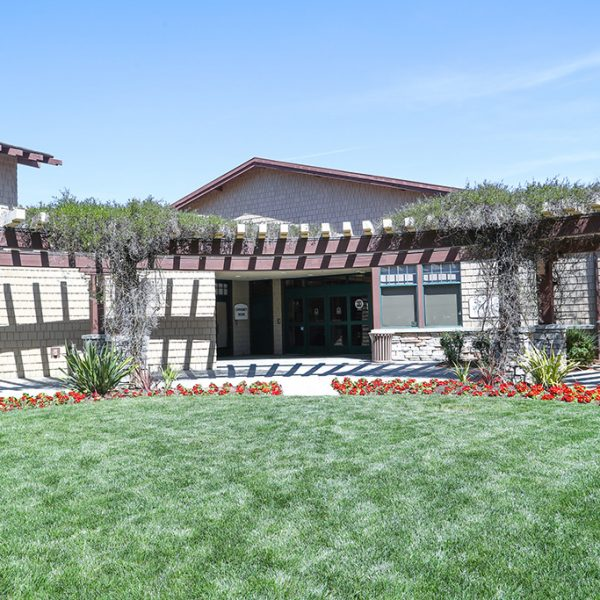 Outside view of the Agoura Hills Library