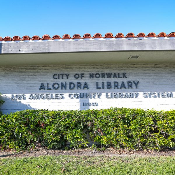 outside of Alondra Library