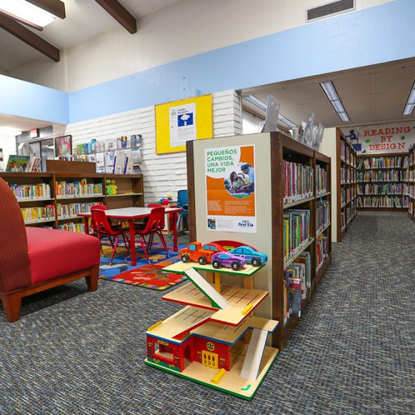 childrens area in Alondra Library
