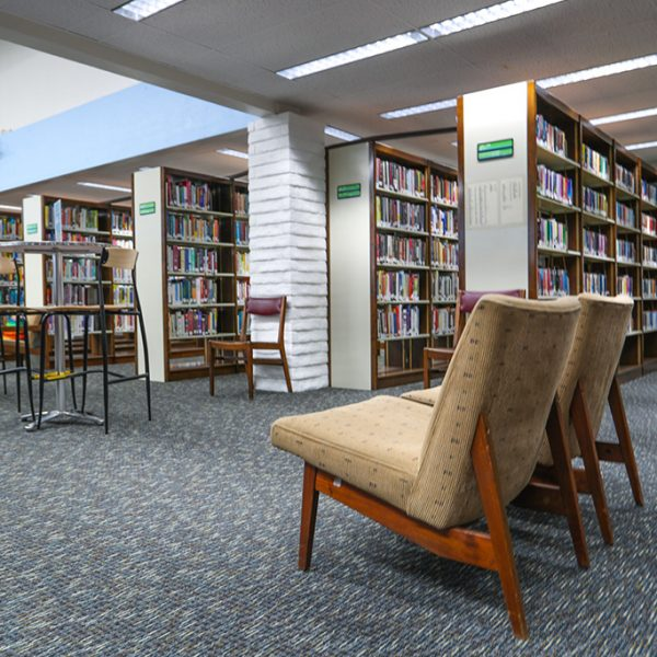 reading chair at Alondra Library