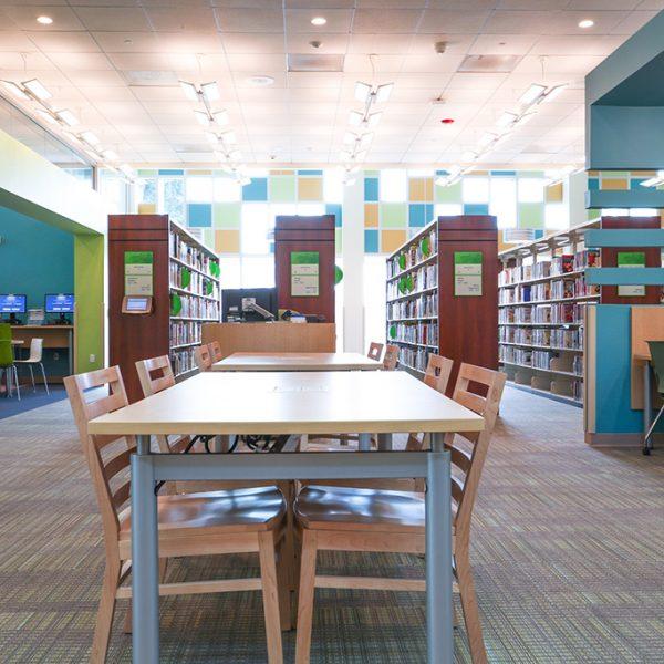 Artesia Library homework area