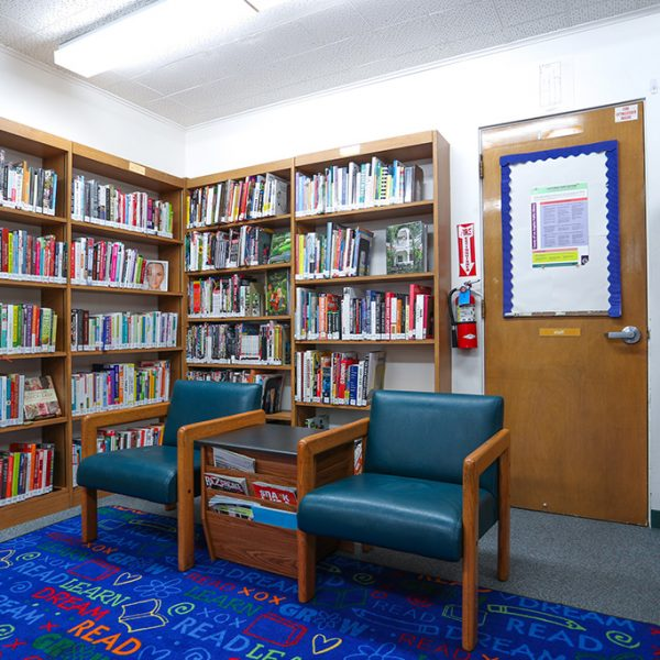 Avalon Library reading area
