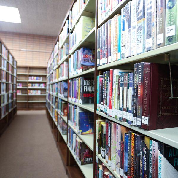 Carson Library bookcase