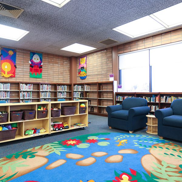 Carson Library kids area