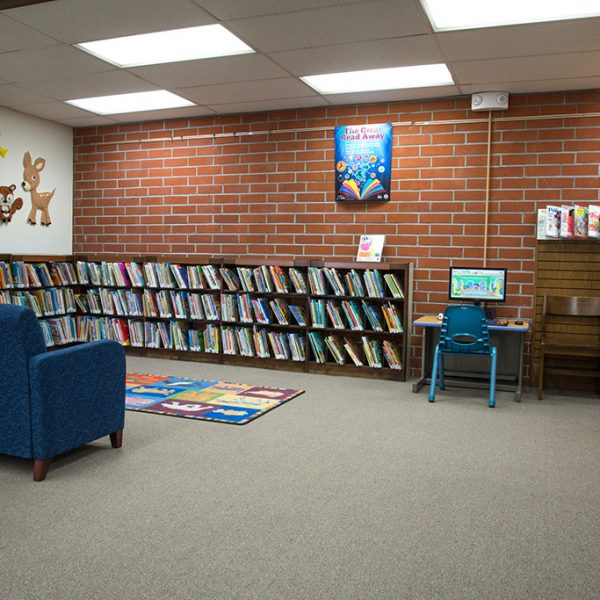 Dr Martin Luther King Jr Library childrens area
