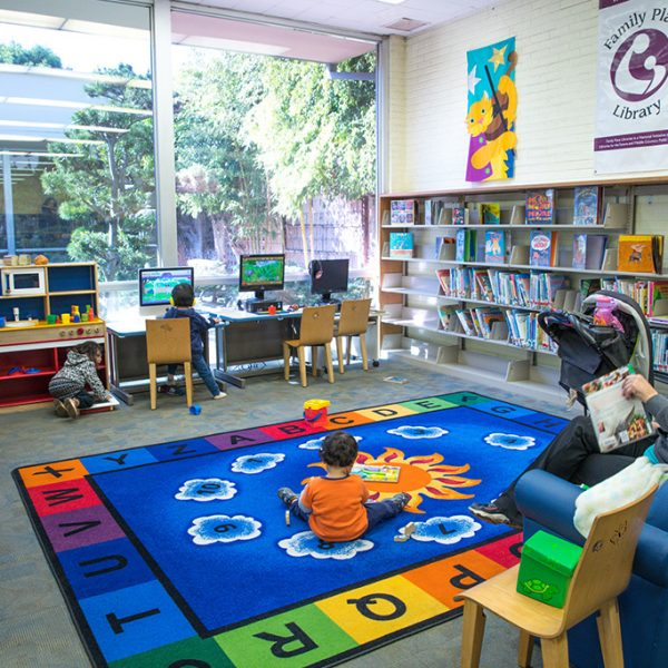 Gardena Mayme Dear Library Childrens area
