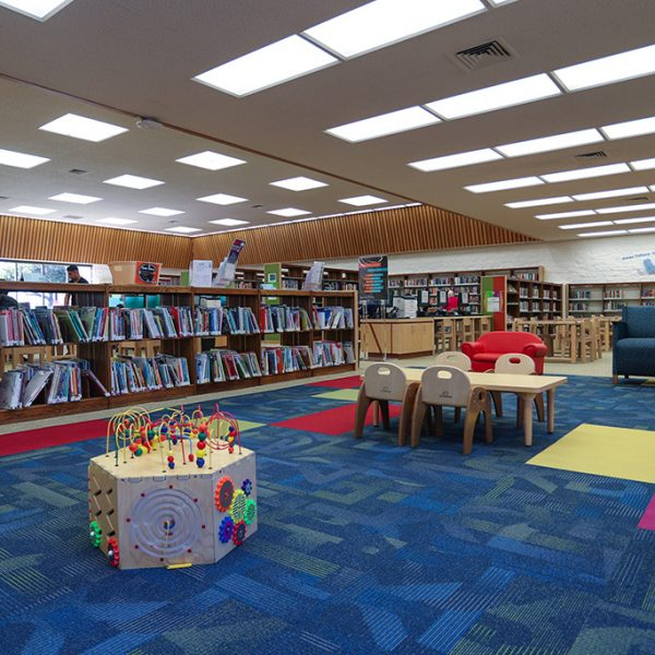 Lomita Library childrens area