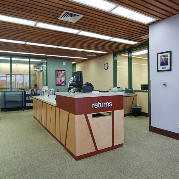 Lomita Library desk