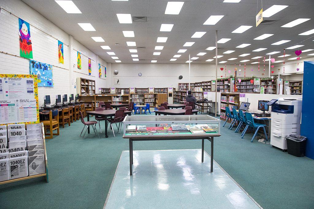 Paramount Library La County Library