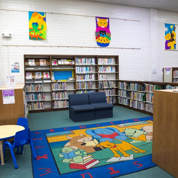 paramount library childrens area